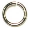 Jump Ring 6-50g Nickel 6mm ID/9mm OD